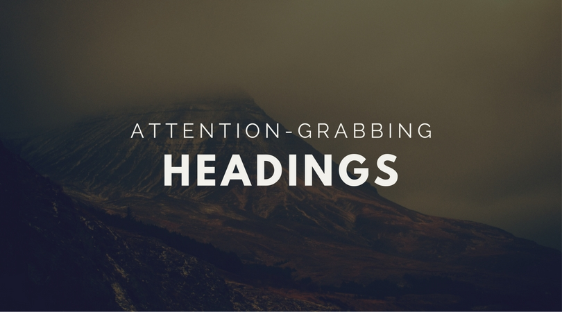 How to Write Attention-Grabbing Headings on Your Law Firm's Web Pages